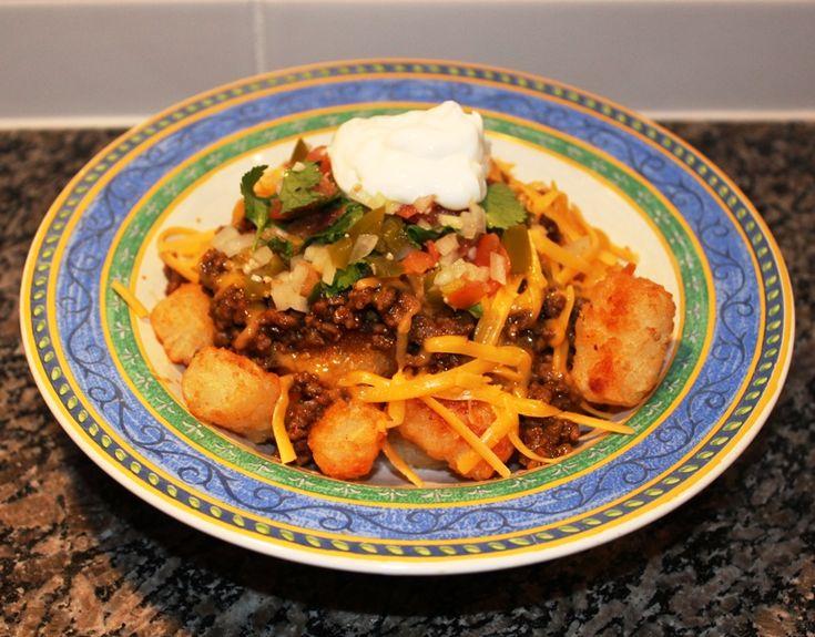Mexican Tater Tots « Cookbook Hub