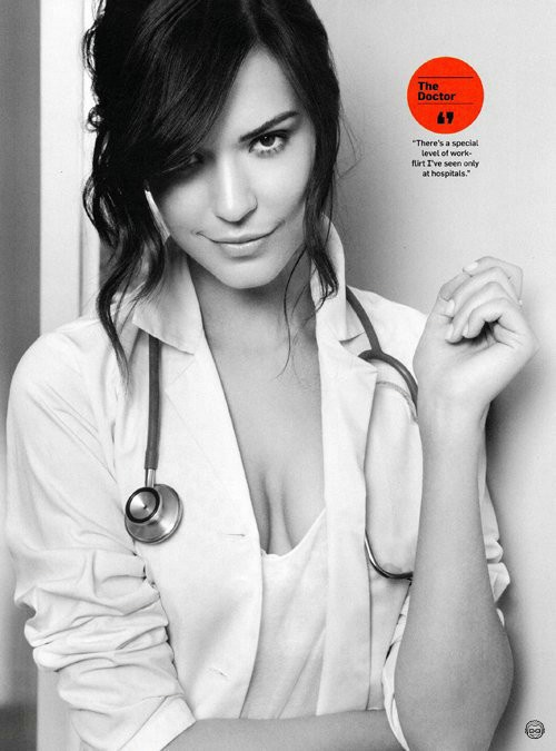 Odette Annable as Dr Jessica Adams. House.