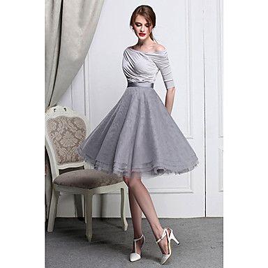 Women's High Waist Bubble Swing Skirt