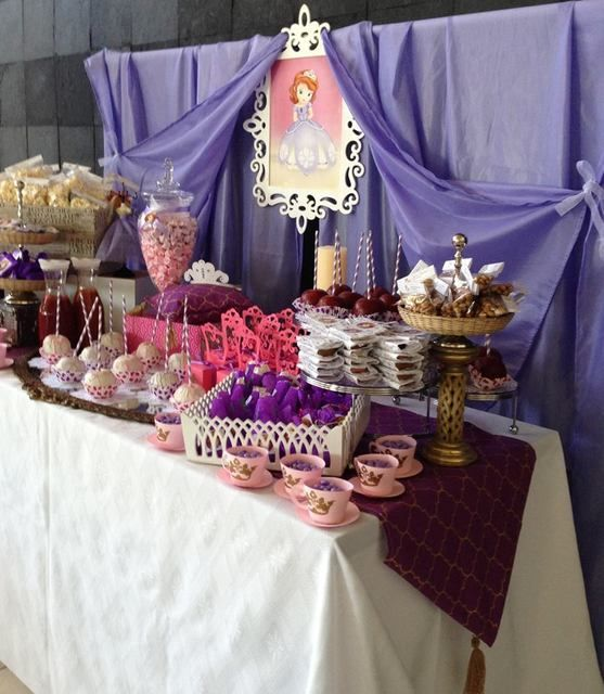 Sofia the First Birthday Party Ideas | Photo 2 of 9 | Catch My Party
