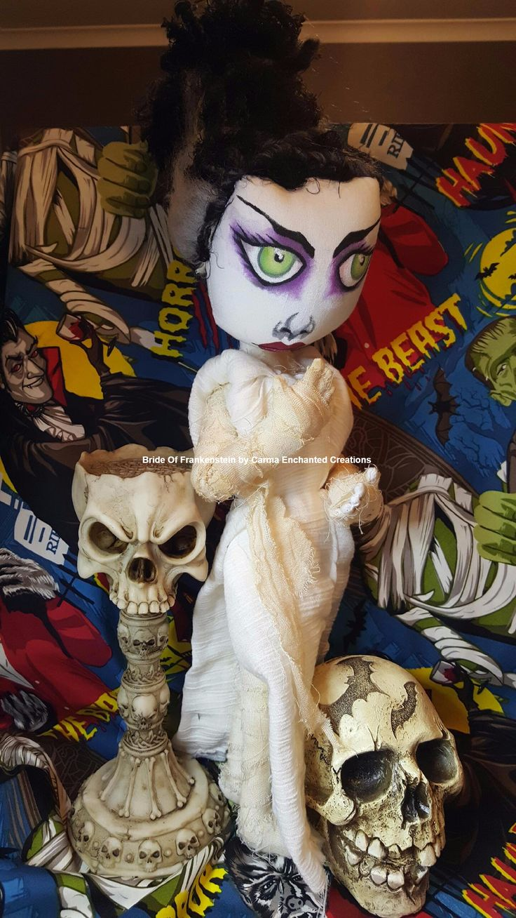 Bride of Frankenstein by Carma Enchanted Creations