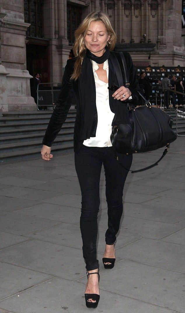 London, March 2015. Kate Moss ...