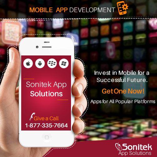 SonitekApps believes in creating and developing quality #MobileApp design http://www.sonitekapps.com/