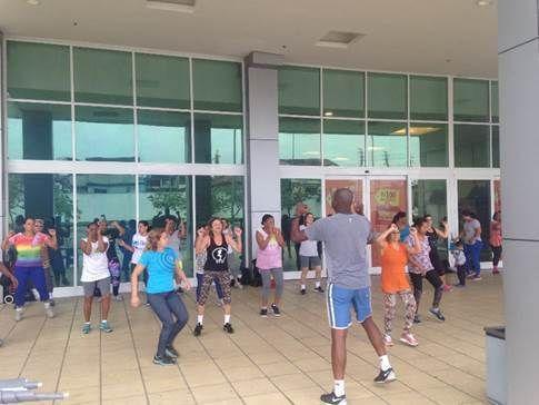 COMO TER UM MUNDO MELHOR: Grátis: Shopping Jardim Guadalupe promove aulas de ginástica no Rio