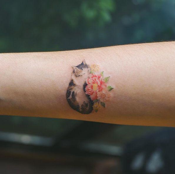 Katze von Sol Art