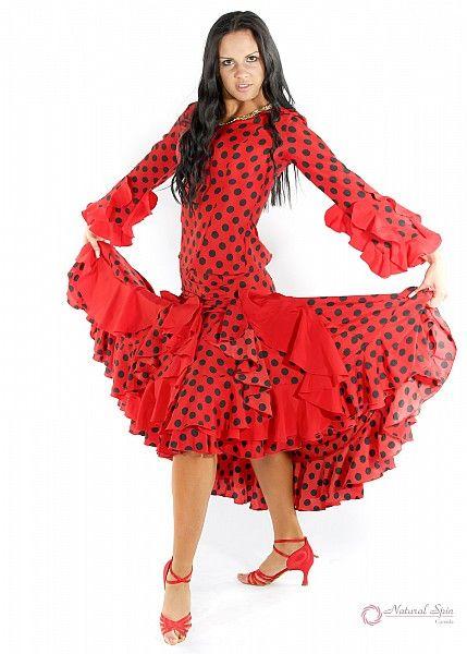 Natural Spin Signature Flamenco Dancewear:  PS03