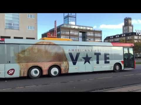 Denmark Just Trolled Trump With A Bus. Watch What Happens When It Moves Thanks Trump for making us the world's laughing stock. NOT COOL YOU OLD FOOL!