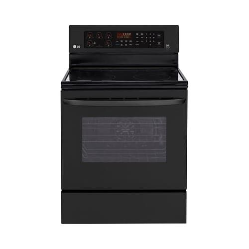 LG LRE3083S 6.3 Cu. Ft. Electric Single Oven Range with True Convection, Blue