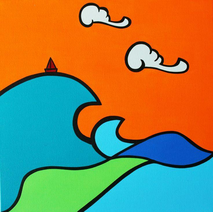 dipinto acrilico su tela / acrylic on canvas
