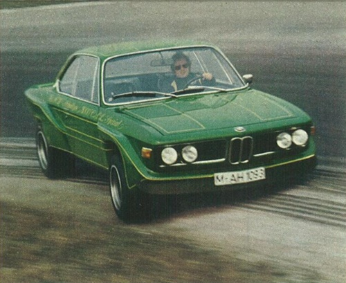 1972 BMW 3.0 CSL by AC Schnitzer