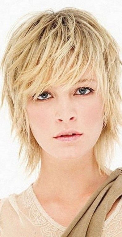 Shag Hairstyles 465 Best Good Hair Images On Pinterest  Hair Cut Short Hair And