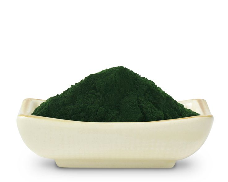 organic raw chlorella powder one teaspoon of the emerald green powder contains five times more chlorophyll than wheat grass, 12 times more than barley grass, and 10 times more than alfalfa.