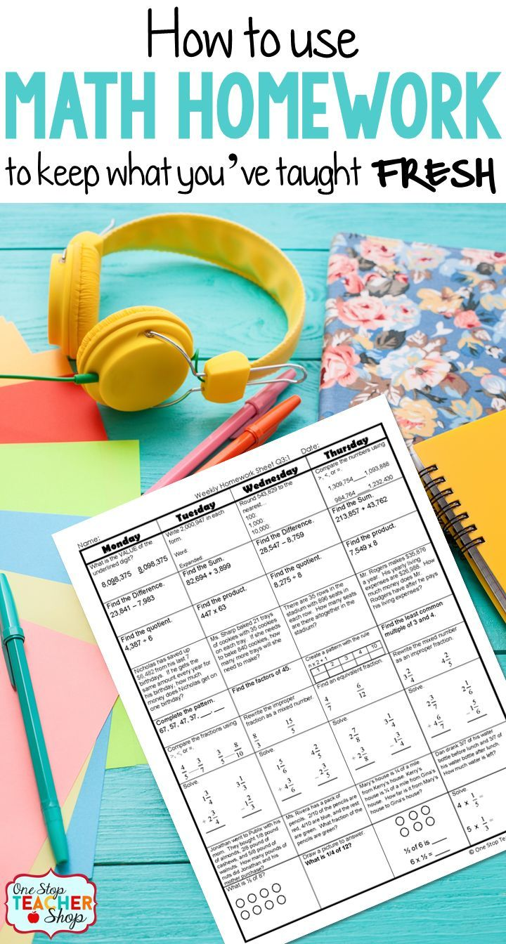 Spiral math homework is by far the most effective homework system I have ever used. Get tips and ideas for implementing spiral homework in your classroom, and read about the benefits I've seen in my classroom. (#4 has been a HUGE game changer)