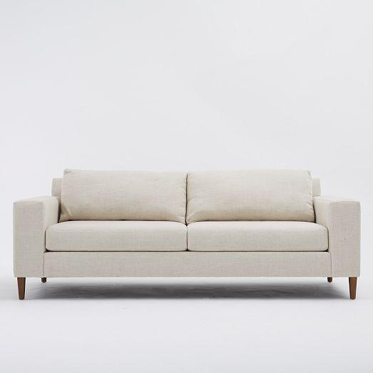 York sofa grand for West elm sectional sofa brown