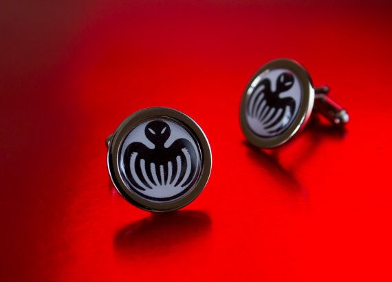Set Of James Bond Spectre Cufflinks by UnofficiallyOriginal