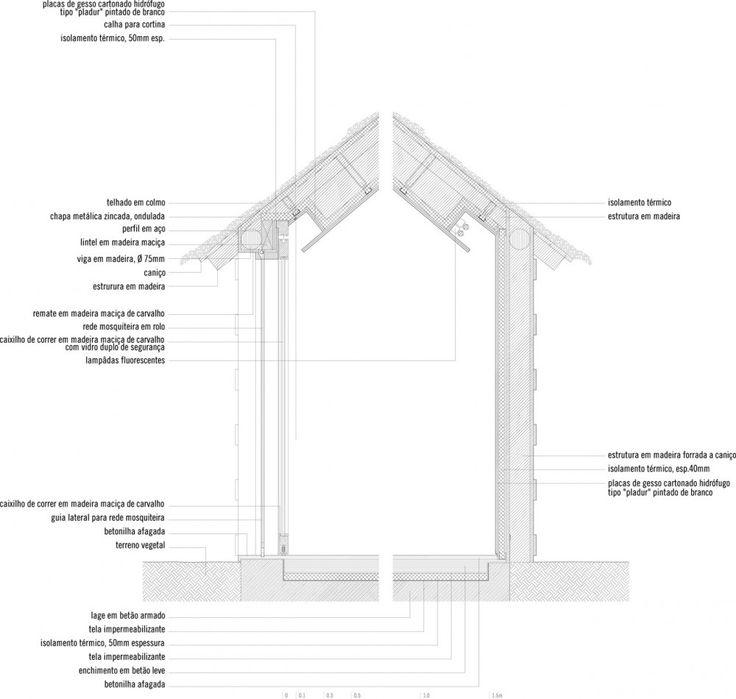 Casa na Areia / Aires Mateus detalles