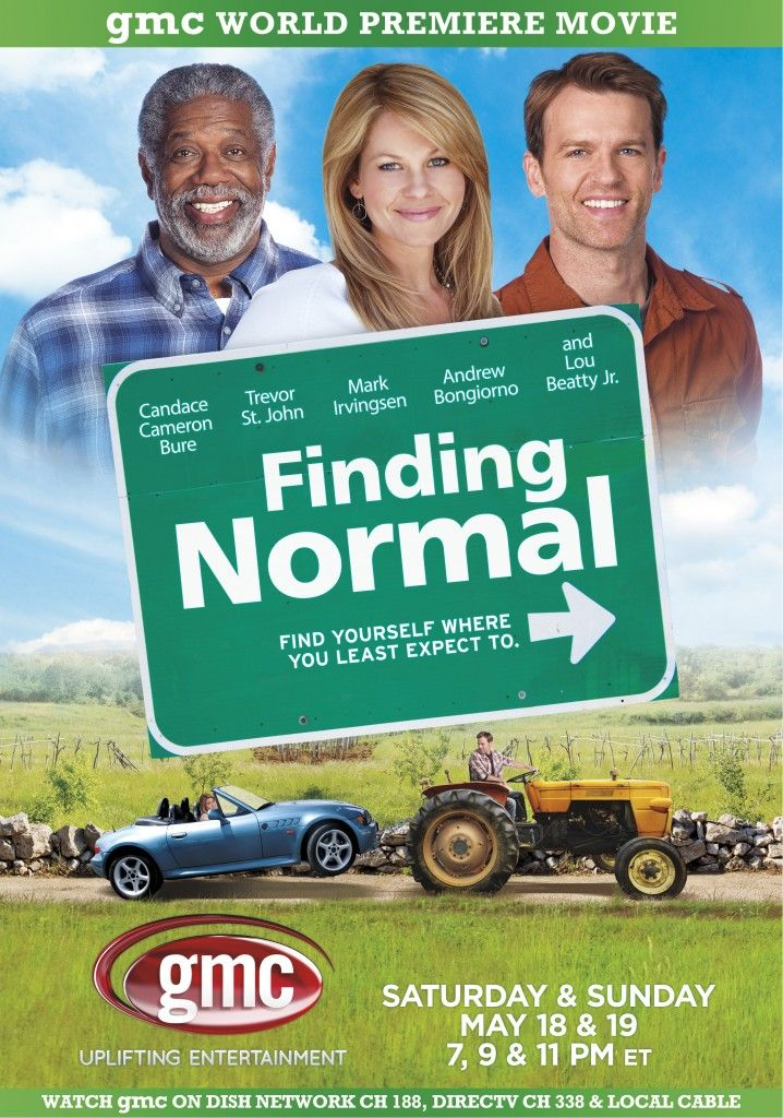 Finding Normal Starring Candace Cameron Bure (formerly known as DJ from Full House) Premiers this Saturday - May 18th and 19th!