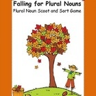 Your class will love to practice changing singular to plural nouns with this fall themed game.  Falling for Plural Nouns can be used in a variety o...