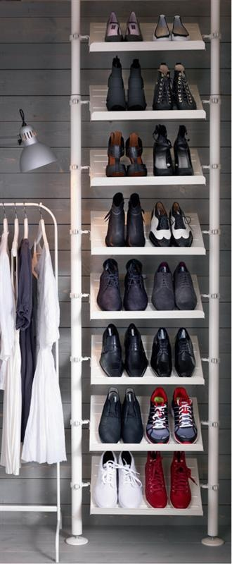 Shoe organisation for space saving |Pinned from PinTo for iPad|