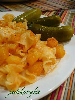 Jade konyhája: Krumplis tészta - svábosan
