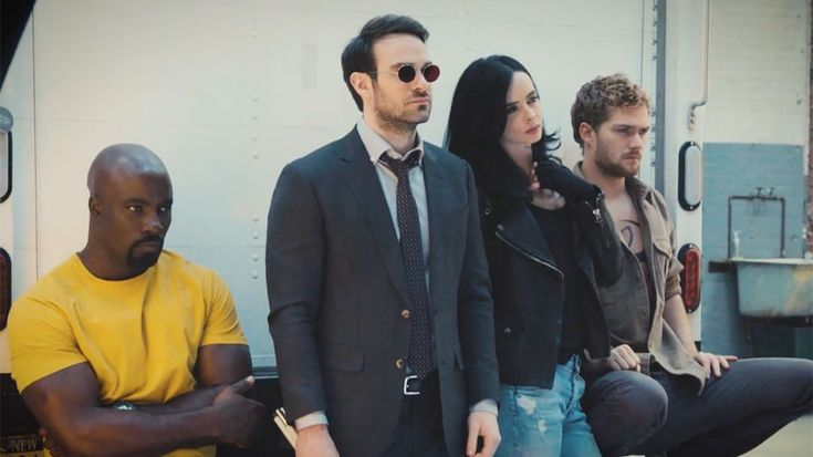 For the last two years, Marvel and Netflix have laid the groundwork for the second superhero team in the MCU with Daredevil, Jessica Jones, Luke Cage, and the upcoming Iron Fist series. But this summer, The Defenders will finally converge, and the eight-episode miniseriesalready has us excited! Entertainment Weekly has posted a new video of the Defenders cover shoot for the latest issue of the magazine, in whichCharlie Cox, Krysten Ritter, Mike Colter, and Finn Jones briefly recapped who…