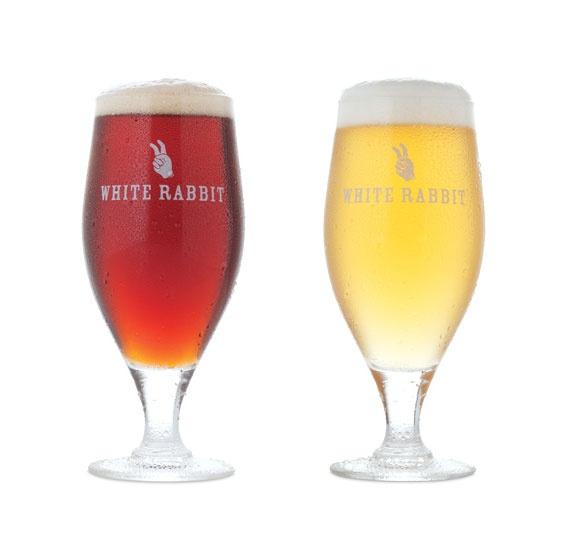 White Rabbit Brewery Glassware