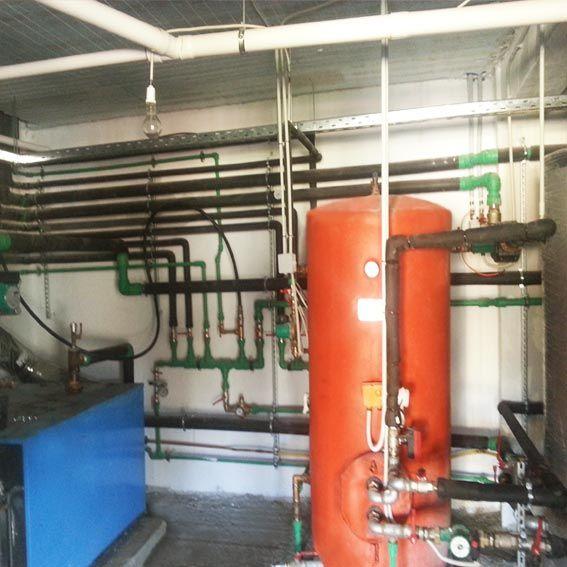 γεωθερμική εγκατασταση στο ξενοδοχειο Finday Boutique Hotel στα Καλαβρυτα