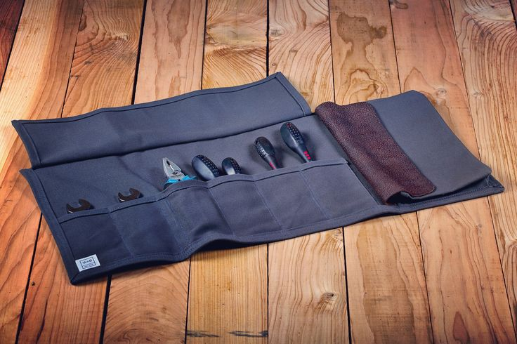 Made To Order Canvas Tool Roll - Standard - W & B