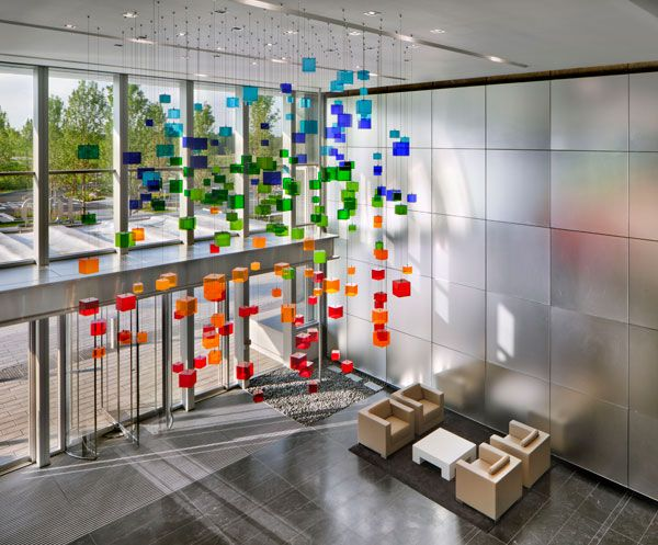 corporate office design ideas corporate lobby. wonderful ideas basf corp lobby by gensler  interesting art installation find this pin  and more on corporate interiors  intended office design ideas lobby e