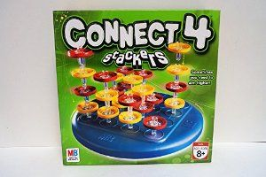 January 2016 - What I'm Playing - Board Games - Connect 4 Stackers - I like this so much better than traditional Connect 4. It's three-dimensional so it's harder to play and really makes you think about where you move. (not an affiliate link, endorsement, or sponsorship) #Boardgames #FamilyNight #Games
