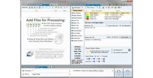 Batch Text File Editor - http://codeholder.net/item/apps/batch-text-file-editor