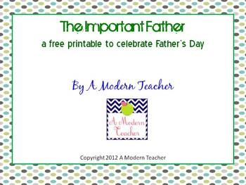 Need to super quick but fun way to celebrate Father's Day with your students: Dedication Website, Student