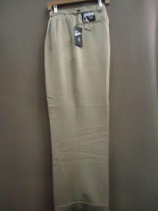Details about New Mens Smokey Joe Khaki Wide-Leg, Pleated Dress ...