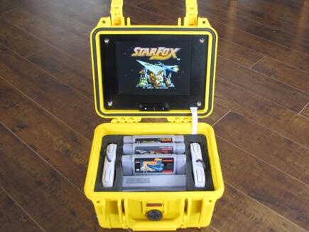 Our Peli 1300 is the perfect portable gaming case for the wonderfully #retro Super Nintendo.