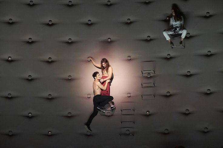 Romeo and Juliet. The Royal Theatre Copenhagen 2014.  Set and costumes designed by Steffen Aarfing