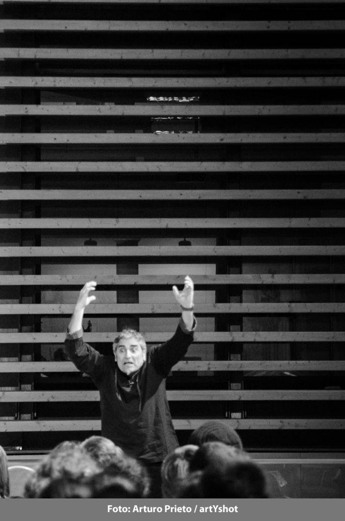 """Pepepérez. """"Del trastero, desván o como lo quieras llamar"""" - 28 de febrero - Palacio los Serrano Fotografía: Arturo Prieto / artYshot"""