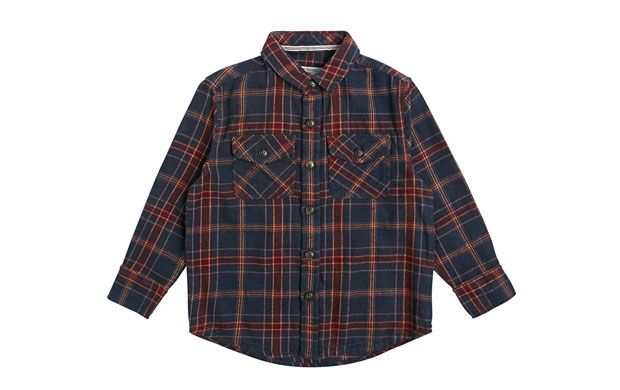"Boy'S Checked Shirt - Children. ""Make your little boy the most stylish on the block in this cool checked shirt."""