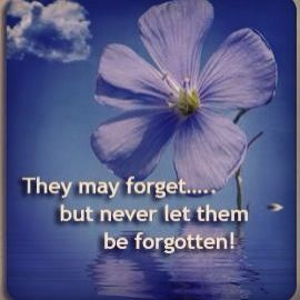 They may forget but never forget them #dementia