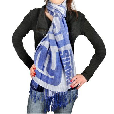 New York Giants (or your fave NFL team) Ladies Fashion Pashmina Scarf - Royal Blue. Fanatics.com is the largest online retailer of officially licensed sports merchandise with over 250,000 unique items across all professional and collegiate leagues and teams. www.fanatics.com