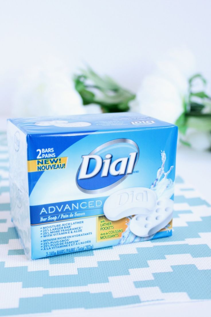 Dial ADVANCED Bar Soap review + $75 Giveaway (CAN/ ends April 28th)