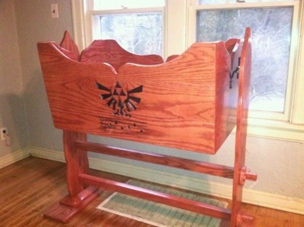 Legend of Zelda Baby Crib on Global Geek News.