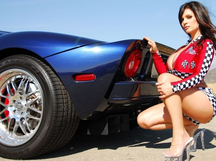 Sports Car And Sexy Model Denise Milani Calendars Of Cars And