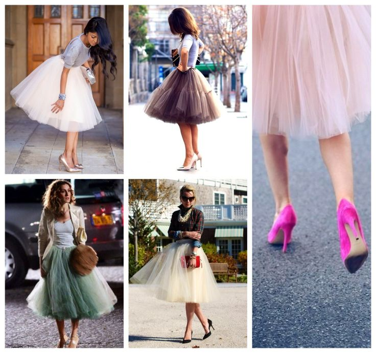 High Tea See More Full Tulle Skirt Outfit
