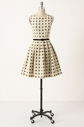 dressy: Fashion, Polka Dots Dresses, Anthropology, Style, Polkadot, Mullani Dresses, Black Dots, Eva Franco