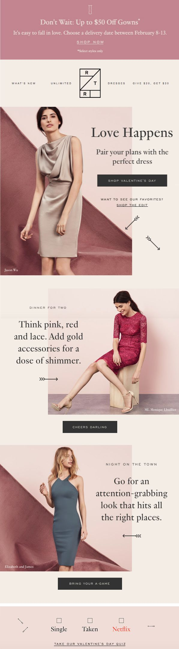 rent the runway marketing