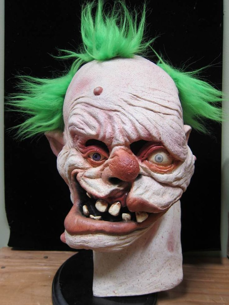 gummo the clown mask cool halloween - Cool Masks For Halloween