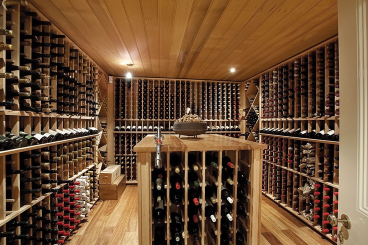 Designed with extraordinary care and attention to detail is this 200 doz bottle sealed cellar