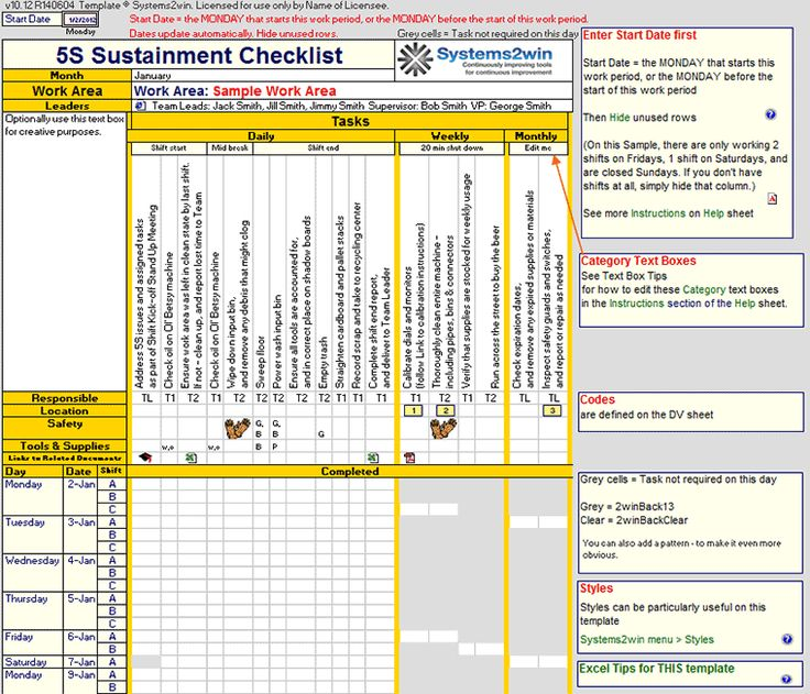Best Hvac Images On   Checklist Template Preventive