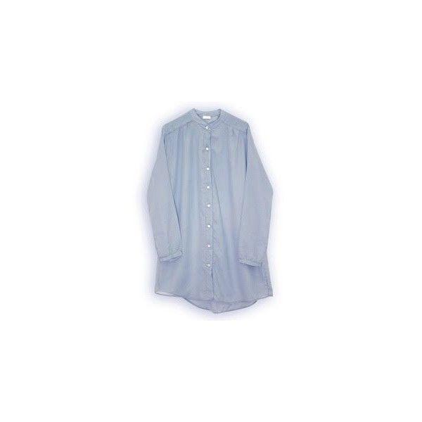 macarena gea _ hadas y algo más...: moda ❤ liked on Polyvore featuring gaats, vestido, camisas, azul and vestido gaats