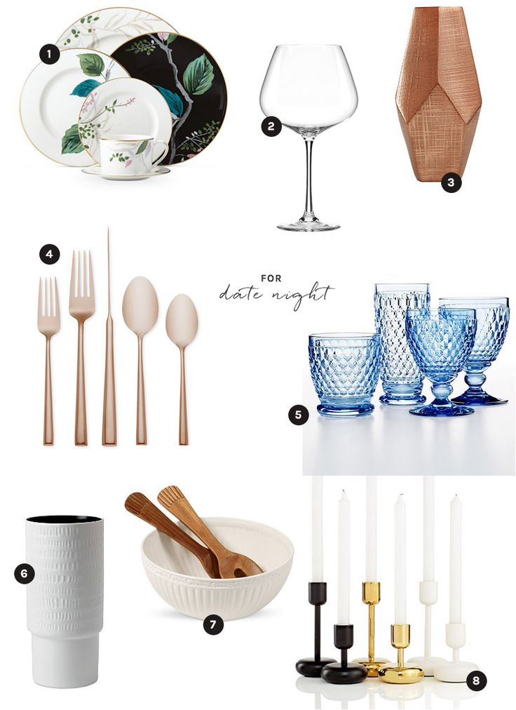 Macy's Wedding Registry picks for the perfect date night at home